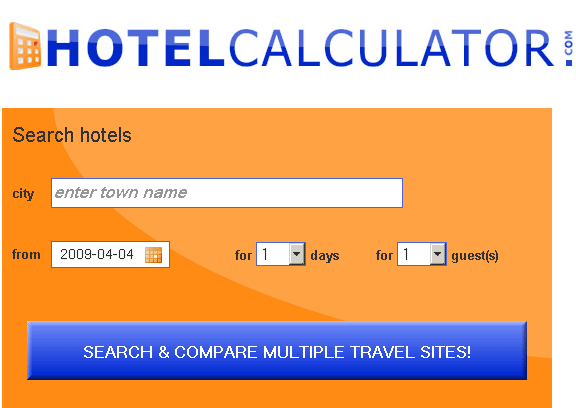compare multiple travel sites