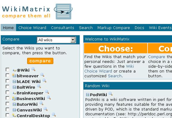 compare wiki