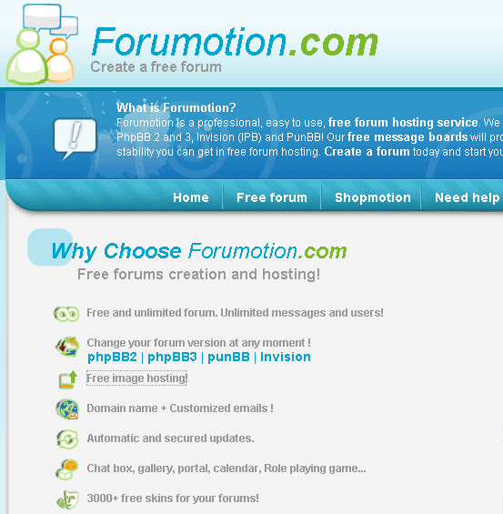 Forumotion: Create Your Own Unlimited Forum image153
