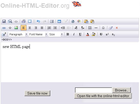 Online-HTML-Editor: A Free Online WYSIWYG Editor