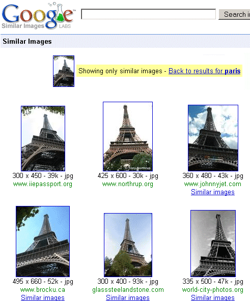 similar image search