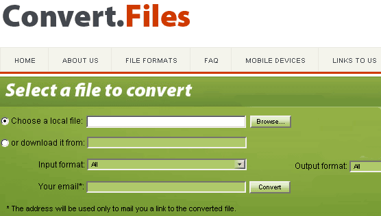 convert almost anything