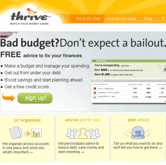 organize your budget