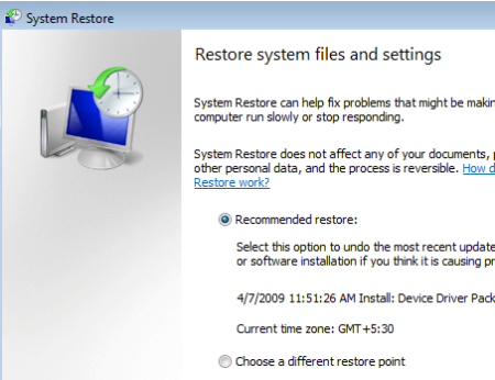 How To Roll Back Windows Hot Fixes & Patches vista restore