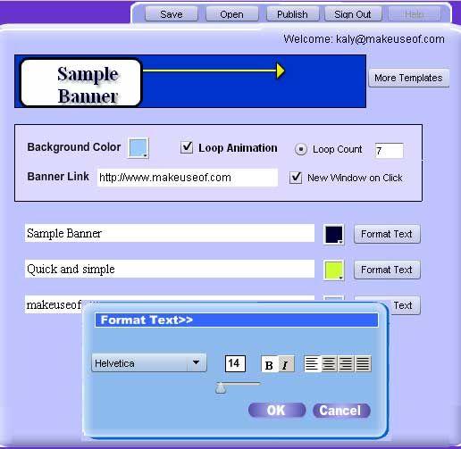instant banner generator