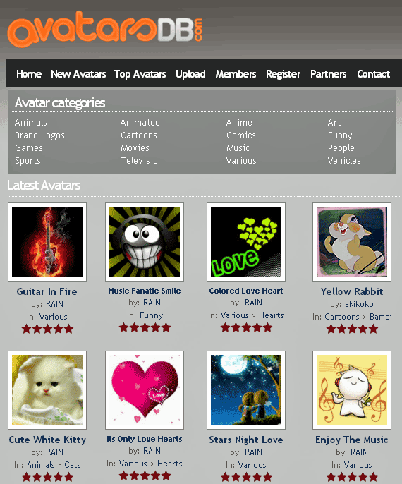 avatar directory