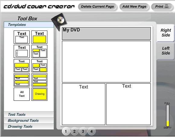 covercreator1   CoverCreator: CD & DVD Cover Maker