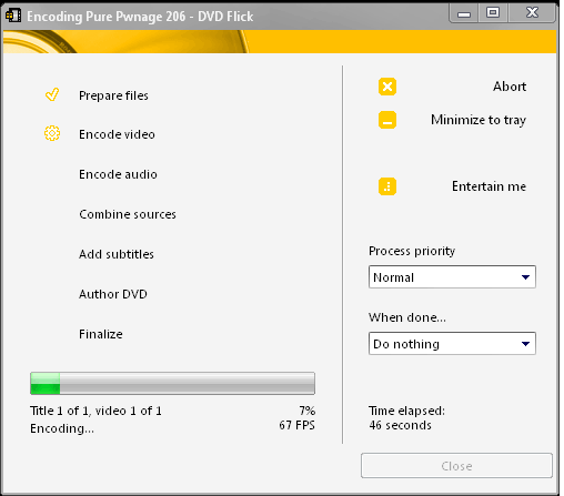 How to Create a DVD from Any Video File creating dvd video 3