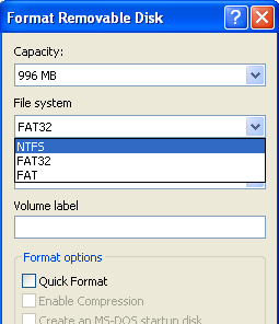How To Optimize USB drive with NTFS devntfs