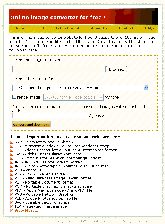 image conversion tool