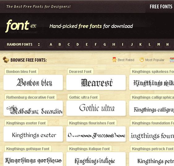 image159   Fontex: Amazing Free To Use Fonts