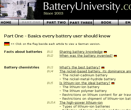 guide to rechargeable batteries