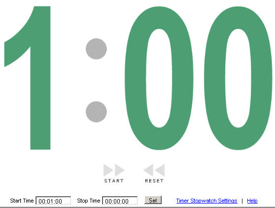 large display stopwatch