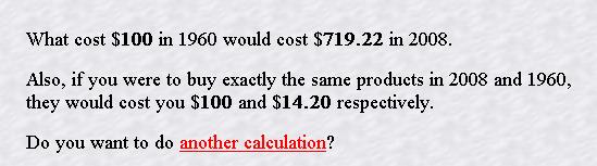 compare value of dollar