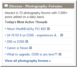 5 Websites to Learn a LOT More About Photography & DigiCams photophotonetforums