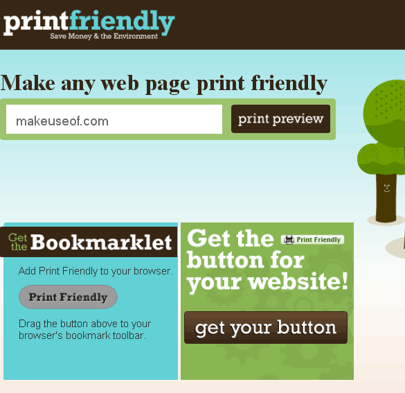 printfriendly   PrintFriendly: Create Printer Friendly Webpages in One Click