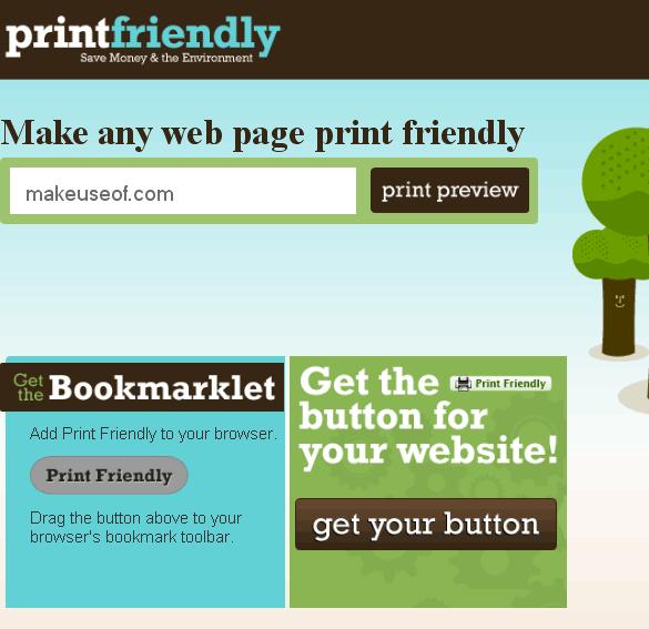 printfriendly   PrintFriendly: Create Printer Friendly Webpages in One Click