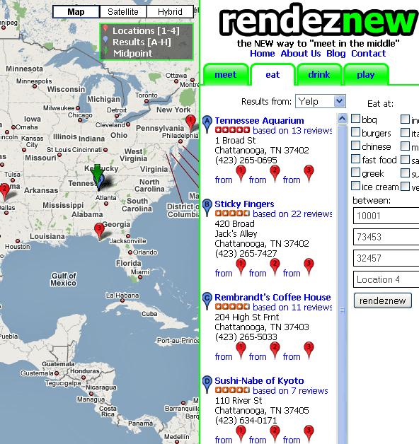 rendeznew   Rendeznew: Find A Midpoint Between Two Addresses