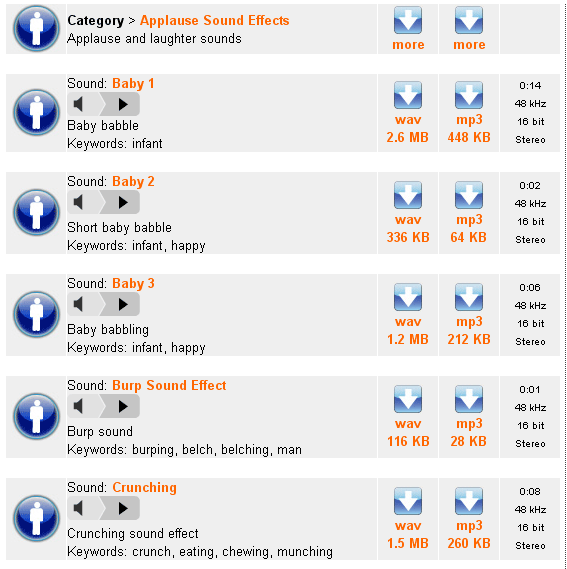 soundjay1   SoundJay: Free Collection Of Sound Effects