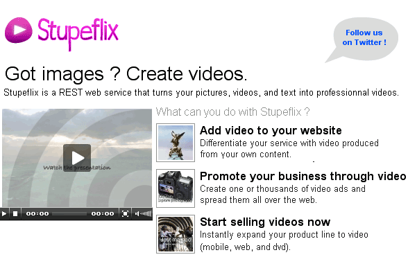 generate cool video presentations