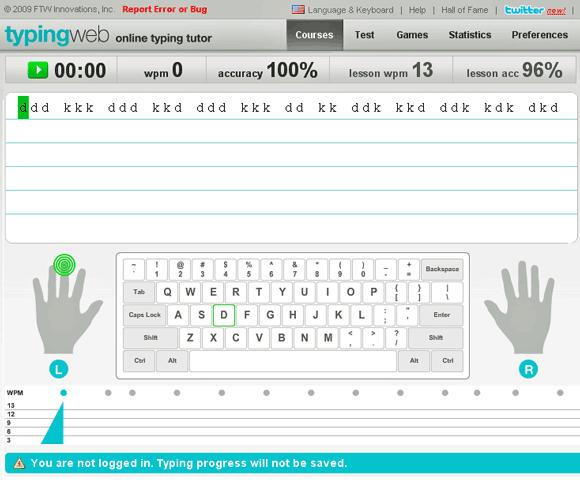 learn proper typing