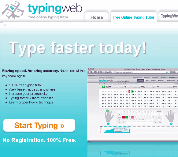 learn quick typing