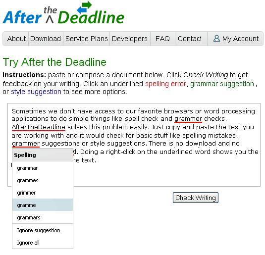 grammar checking site