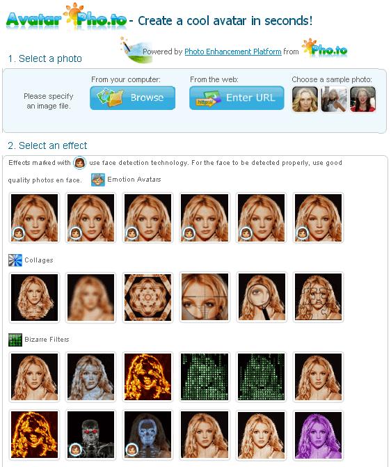 create animated avatar online