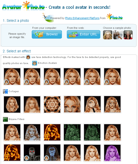 create animated avatar online
