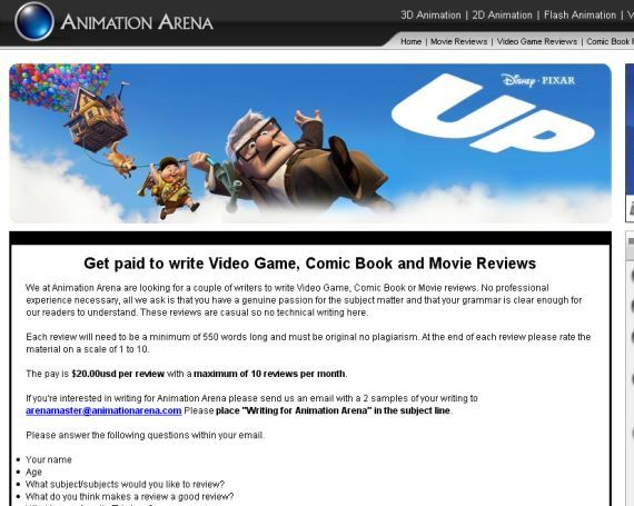 To Write A Movie Review Online  Earn Money Doing It