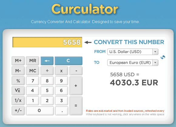 currency converter and calculator