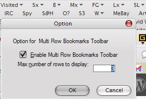 google chrome bookmarks bar multiple rows
