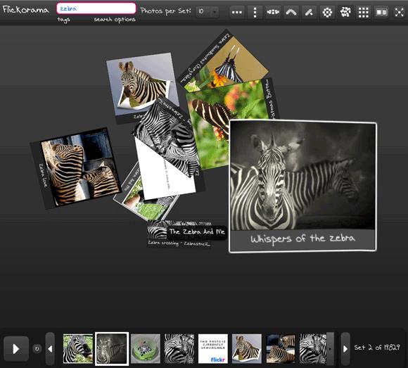 flickr 3d viewer