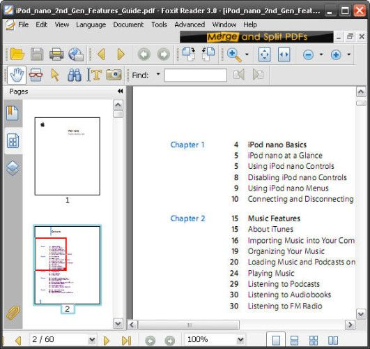merge pdf files foxit pdf editor