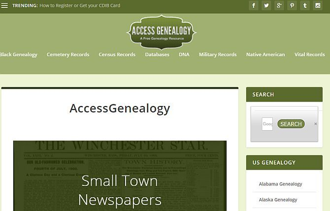 Top 10 Free Genealogy Websites to Find Ancestors genealogy2