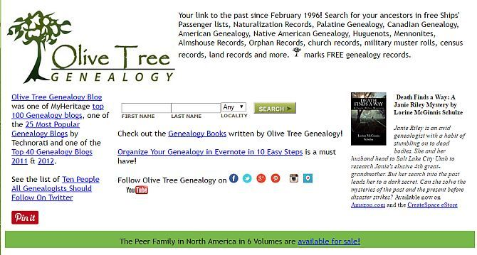 Top 10 Free Genealogy Websites to Find Ancestors genealogy3