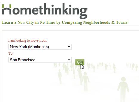 compare neighborhoods in different cities