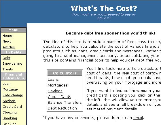 free financial calculators