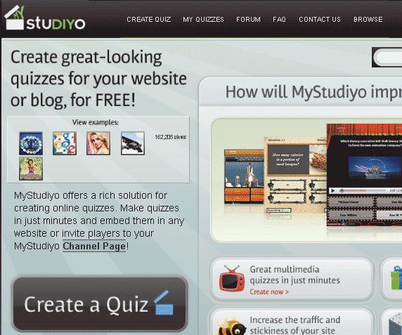 multimedia quizzes