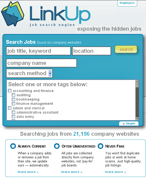 find hidden jobs