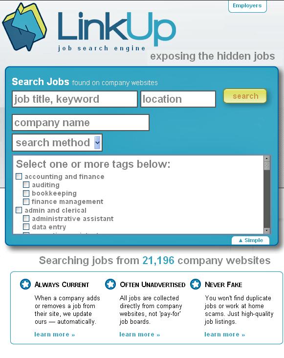 find hidden jobs