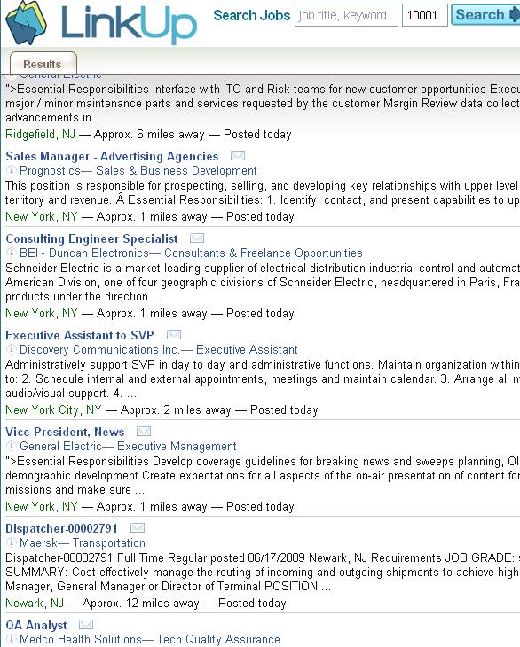job listing aggregator