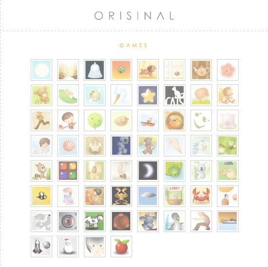 Orisinal.com - Cute Flash Games For All orisinalhome