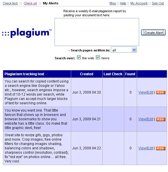 online plagiarism checker