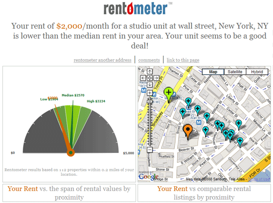 Compare Rent Rates
