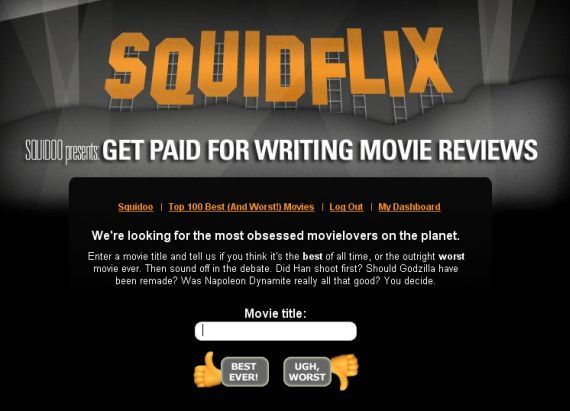 How To Write a Movie Review Online & Earn Money Doing It squidflix