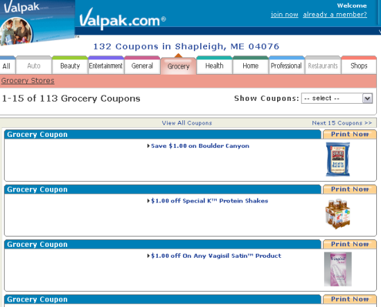 the top 10 grocery coupon websites for cheapskates