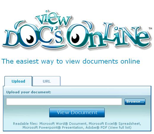 open documents online