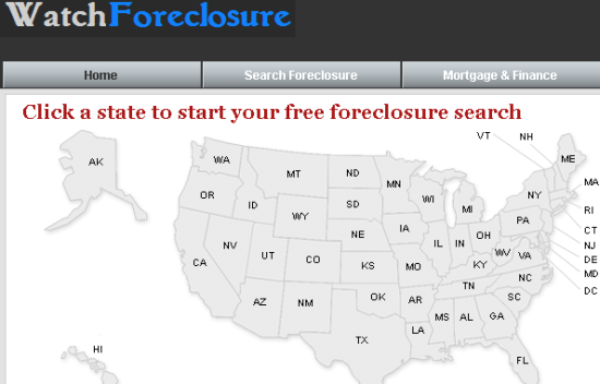 how to get access to foreclosure listings