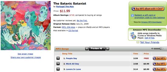 Buying Music: iTunes Store vs Amazon MP3 Downloads